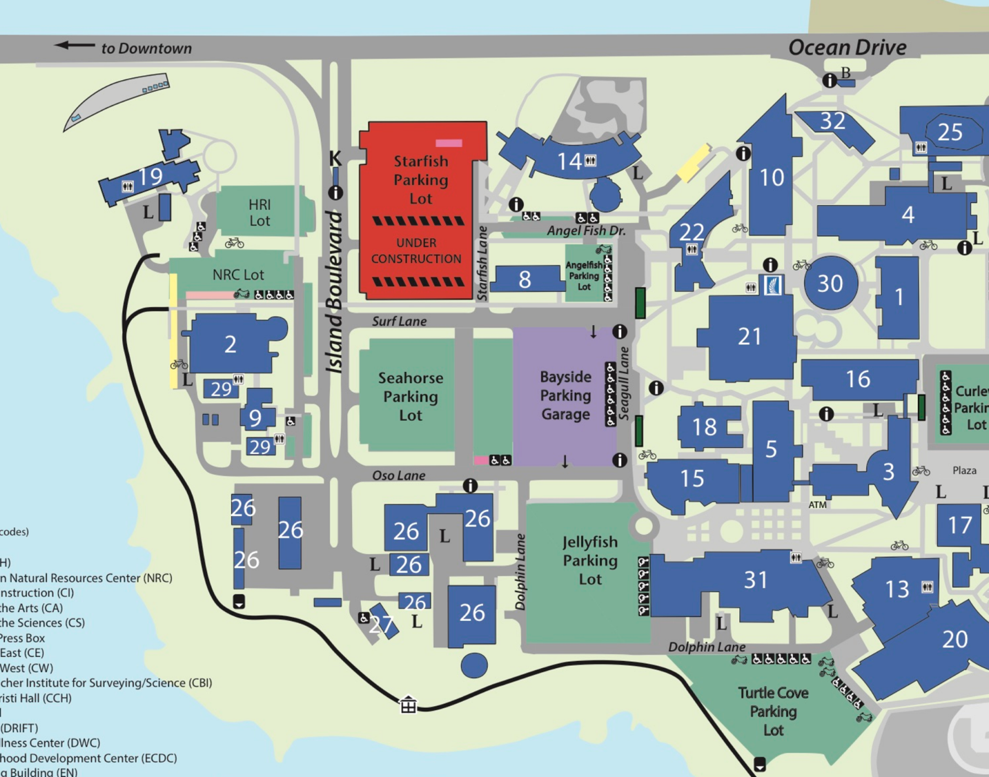 texas a m corpus christi campus map 2018 Fall Meeting Texas Asm